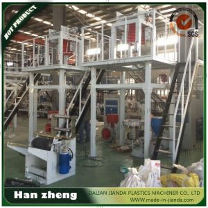 Single Screw Sjm 40-450 Plastic Film Blowing Machine