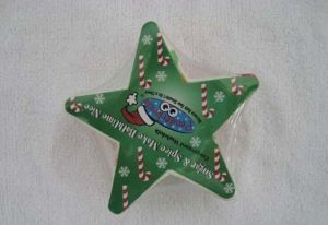 Custom Logo Stars Shape Promotion Compressed Towels pictures & photos