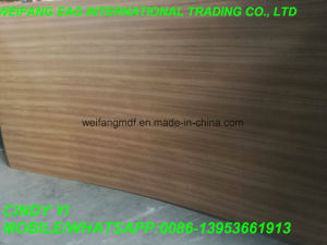 Red Oak Veneer Fancy MDF (720kgs/m3) in Decoration 12mm 15mm 18mm pictures & photos