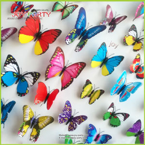 2016 Low Price Wholesale 3D Butterfly Wall Sticker