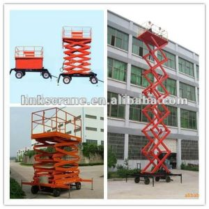 Hydraulic Elevating Platform for Lifting Cargo/Window Cleaning pictures & photos