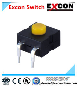 Pushing Flash Tact Switch Excon with Bending Terminal/Power Switch