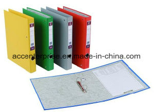 A4, FC Single PVC Two Ring Binder pictures & photos