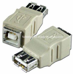 USB a Female to B Female Gender Changer Adapter