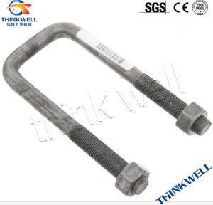 HDG Steel Construction Hardware Square U Bolt pictures & photos