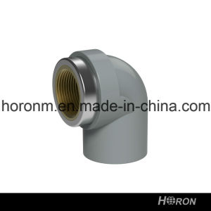 CPVC Sch80 Water Pipe Fitting (90 DEG FAMALE COPPER THREAD ELBOW)