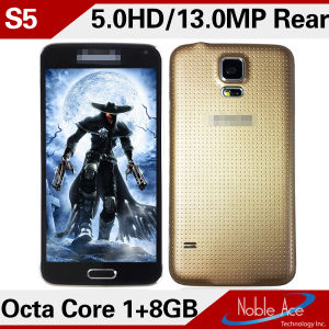 S5 Mtk6592 Octa Core 1.7 GHz Android 4.4 Dual SIM All Mbile Phones