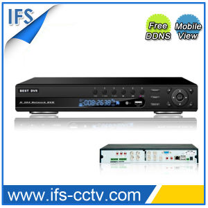 8CH P2p Standalone DVR with Time Display (ISR-7208NA)
