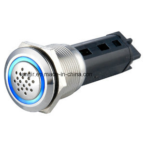 19mm LED Always Lighting When Buzzer Pause Flicker Buzzer pictures & photos