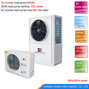 -25c Winter 20kw/25kw Gshp Evi Geothermal Heat Pump Inverter pictures & photos