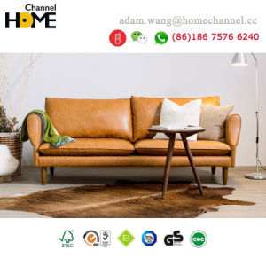 China Modern Design 3 Seater Leather Sofa for Home Furniture (HC-X10 ...