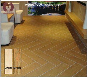 Clical Design Wood Color Ceramic Floor And Wall Tile Mp6552