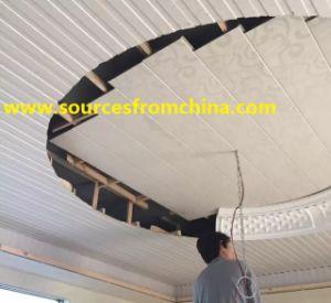 China Pvc Material De Decoracion Wpc Placa Para Pared Y Techo - Placas-para-paredes