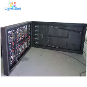 Black Cabinet Color and Wide Screen Support LED TV