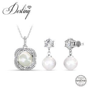 74dffbbdb China Destiny Jewellery Crystal From Swarovski New Pearl Set Pendant ...