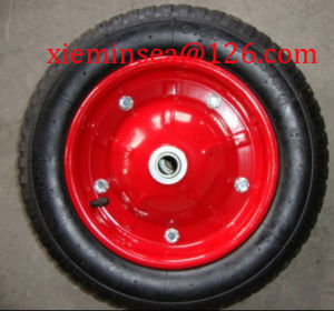 3.00-8 Pneumatic Wheel pictures & photos