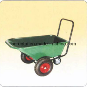 Three Wheels Construction Garden Trailer Wheel Barrow pictures & photos