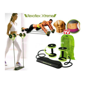 Body Building Equipment with Resistance Tube and Pad Resistance Exerciser