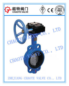 Soft Seal Wafer Butterfly Valve (D371X)