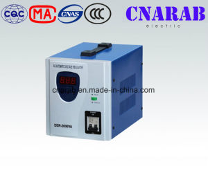 AC Single Phase Automatic Voltage Stabilizer, 2000va Power Supply Servo Motor Stabilizer
