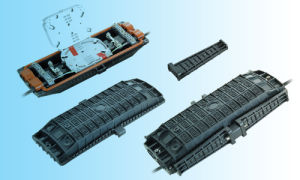 Horizontal Type Fiber Optic Splice Closure Jw007 pictures & photos