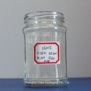 Vista Brand Wholesale Glass Jar with Spoon pictures & photos