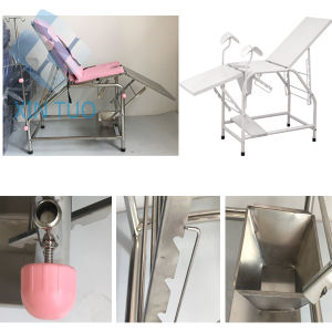 Factory Price Medical Manual Gynecology Operation Theatre Table pictures & photos