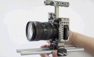 Movcam DSLR for Sony A7s Baseplate Cage with Top Handle HDMI Clamp