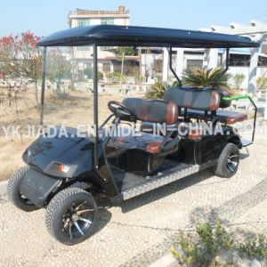 New Designed 6 Seat Electric Golf Kart with 2 Back Seat (JD-GE502B) pictures & photos