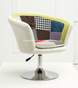 Patchwork Leisure Swivel Chair for Restaurant pictures & photos