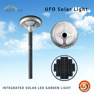 UFO Design Motion Sensor Actived Solar Garden Light pictures & photos