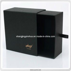 Pure Black Matte Lamination Sleeve Package Gift Box