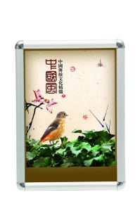 Silver Aluminum Poster Frame Round Corner Snap Frame A3 Size pictures & photos