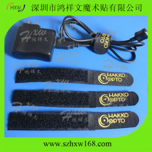 Hook & Loop Cable Tie for Computer Cable (HXW-D025)