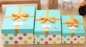 Fashion Spotted Gift Box/ Packing Box/ Display Box