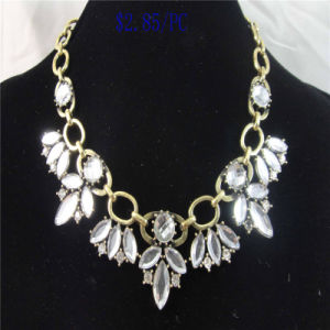 New Item Crystal Acrylic Stones Fashion Jewelry Necklace