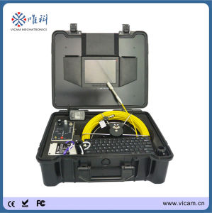 Professional Manufacturer 20m-50m Cable CCTV Inspection Pipe Camera pictures & photos