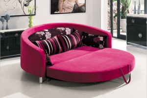 Round Sofa Bed Ls 090a