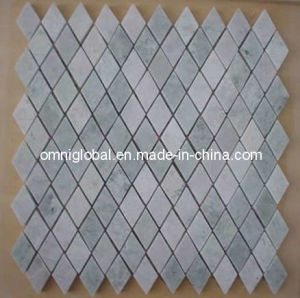 China Ming Green Marble Mosaic Tile Diamond Shape China Marble - Diamond shaped tile flooring