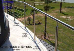 304&316 Stainless Steel Wire Balustrade for Balcony pictures & photos