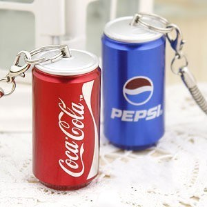 Cola Shape USB Flash Drive with Full Capacity