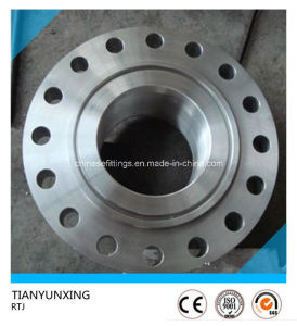 Carbon Steel Rtj Rj A105 Slip on Flange pictures & photos