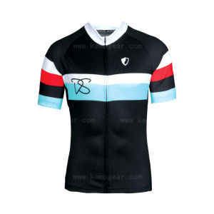 Fashionable Polyester/Spandex Custom Cycling Wear for Men (KG13098)