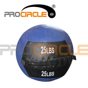 Crossfit Soft Medicine PU Leather Wall Ball (PC-MB1113) pictures & photos