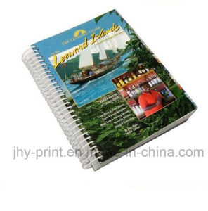 spiral Binding Colorful Book Printing (jhy-778)