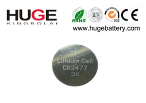 3.0V Lithium Button Cell Battery Cr2477 pictures & photos
