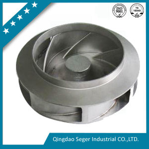 China OEM Lost Wax Investment Casting Service Precision Casting Water Pump Impeller pictures & photos