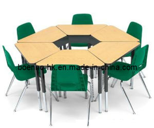Hexagon Student Table Chairs School And Chair