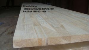 Paulownia Finger-Jointed Panels