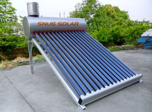 2015 Hot Sale Non-Pressurized Solar Water Heater for Household pictures & photos